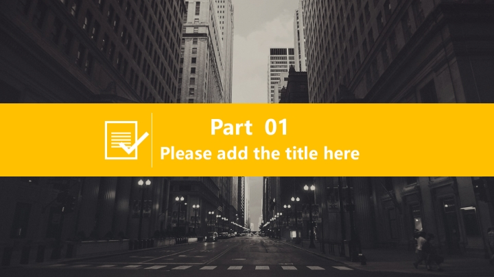 Yellow cool exquisite business template.ppt