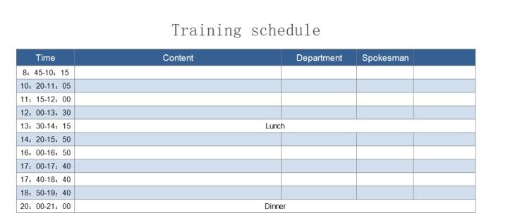 Training schedule.xlsx