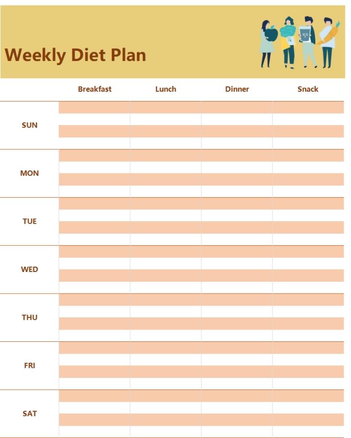 Weekly Diet Plan.xlsx