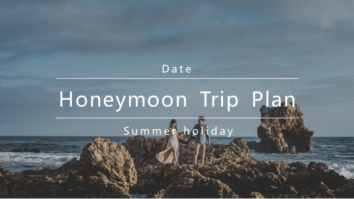 Fresh Blue Honeymoon Trip Plan.pptx