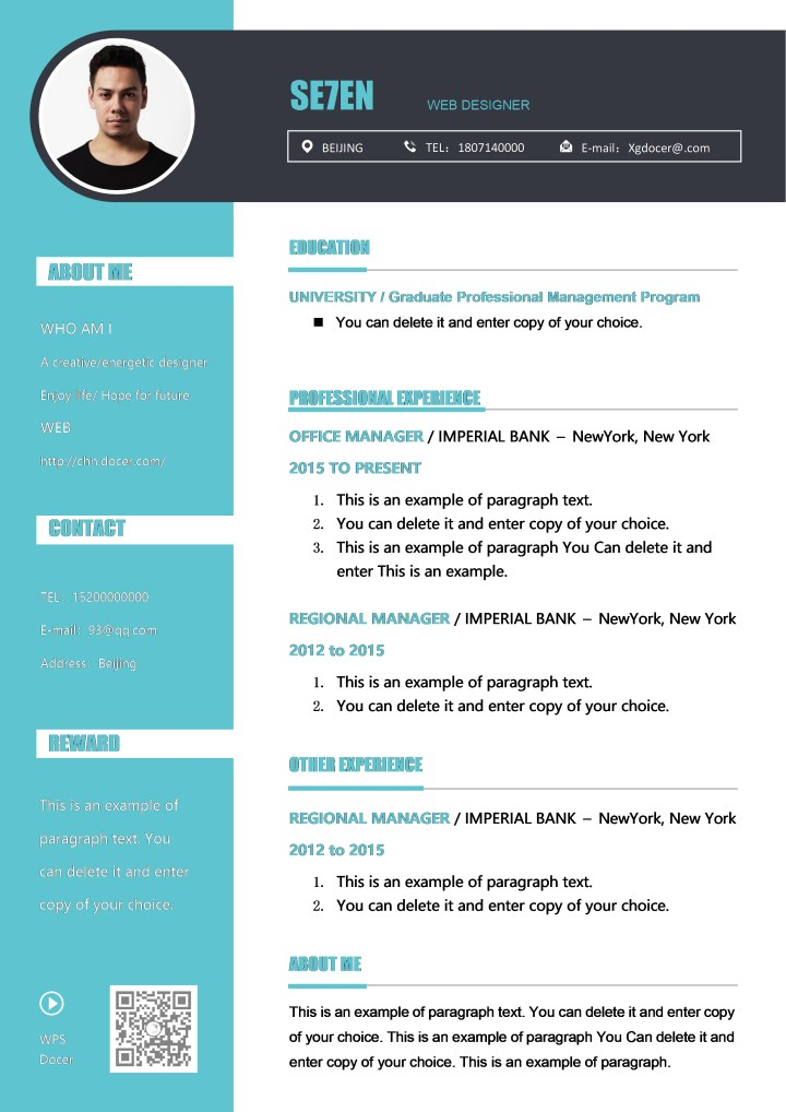 Colorful Resume for Graduates.docx