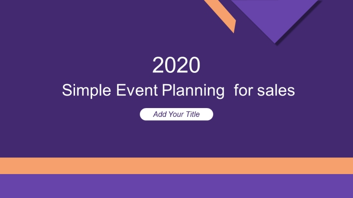 Simple Event Planning  for sales.pptx