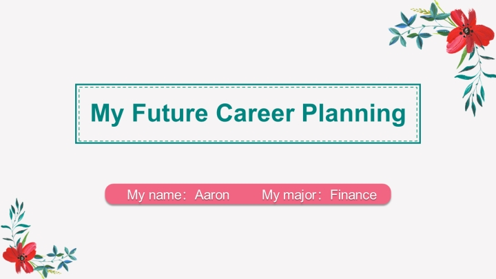Fresh and Colorful Career plan.pptx
