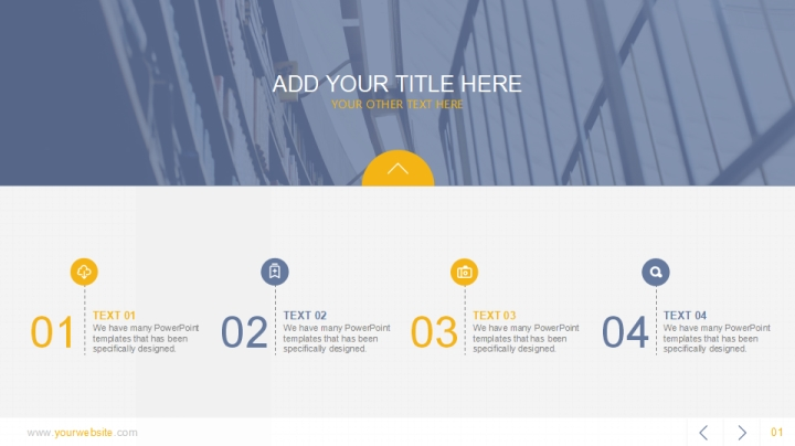 Simple Report Template ppt - Presentation Templates - WPS Template