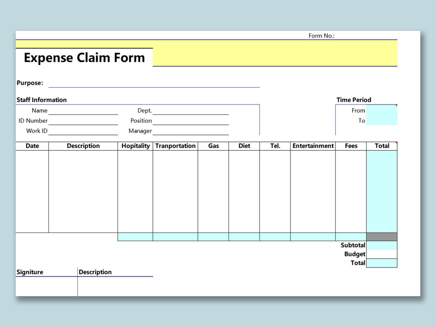 Expense Claim Form Template from d4z1onkegyrs5.cloudfront.net