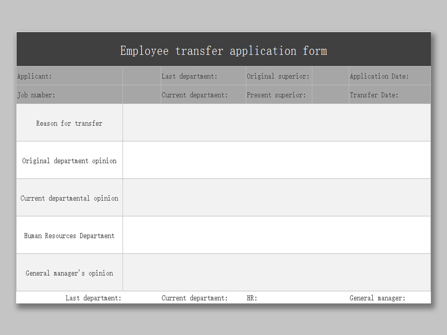Application For Employment Free Template from d4z1onkegyrs5.cloudfront.net