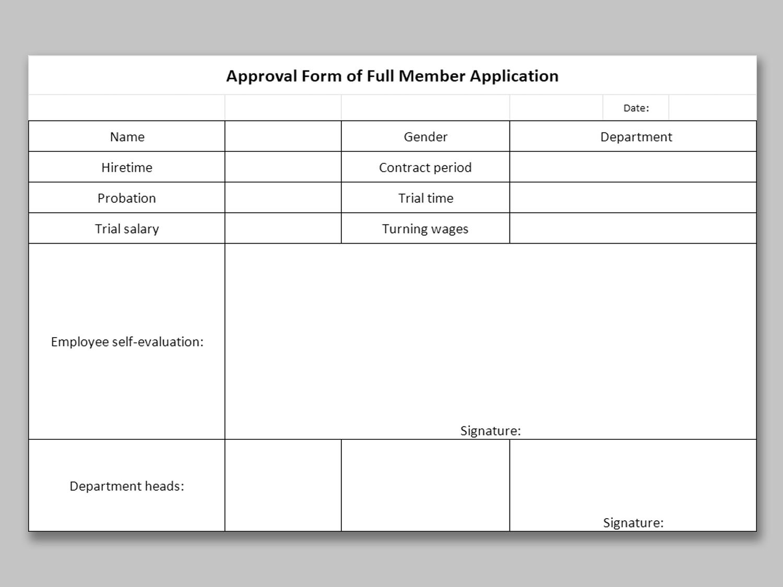 Membership Application Form Template Jotform