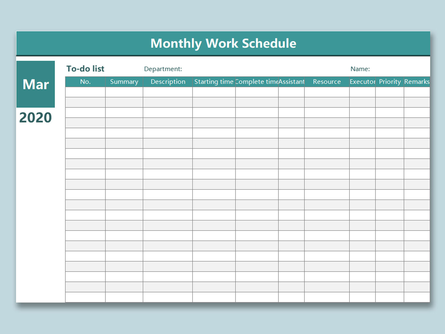 Employee Schedule Template Free from d4z1onkegyrs5.cloudfront.net