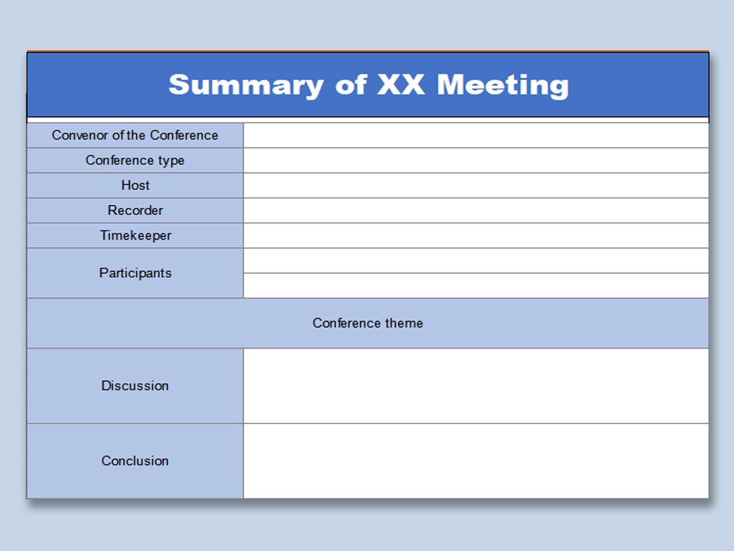 Meeting Summary Template from d4z1onkegyrs5.cloudfront.net